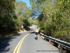 Pinehurst Rd-steep 9-12% grades