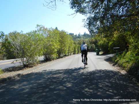 Camino Pablo bicycle bypass