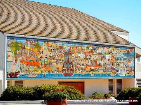 mural on Pacific