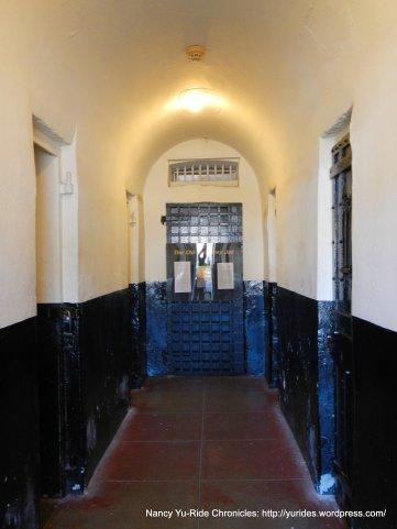 inside Old Monterey Jail