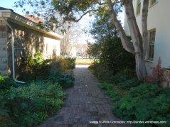 path to Colton Hall