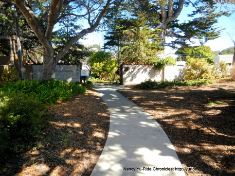 path to Stevenson House