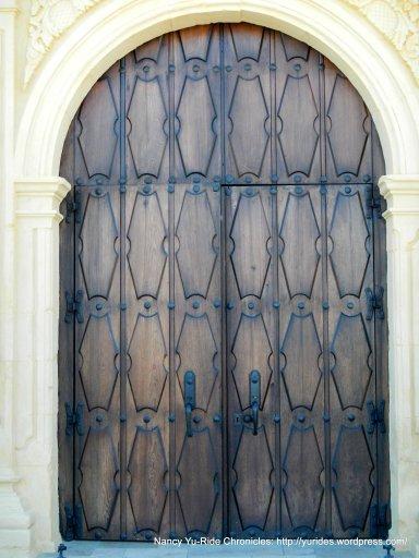 ornate chapel door