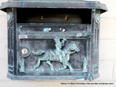ornate mailbox
