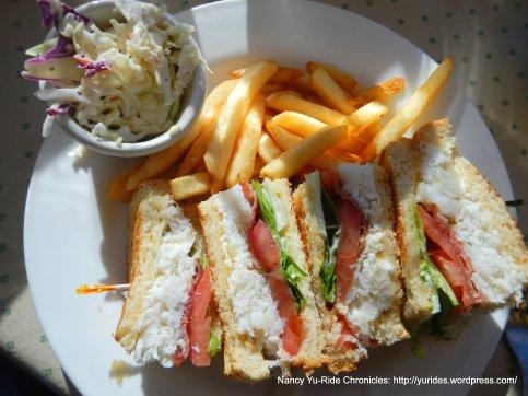 Jumbo Crab BLT Sandwich