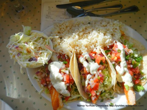 Grilled Salmon Fish Tacos