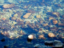 clear bay waters