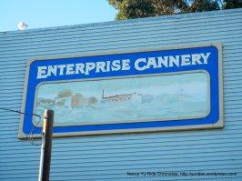 Enterprise Cannery vintage sign