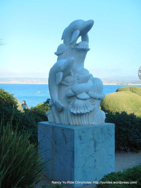 dolphins sculpture