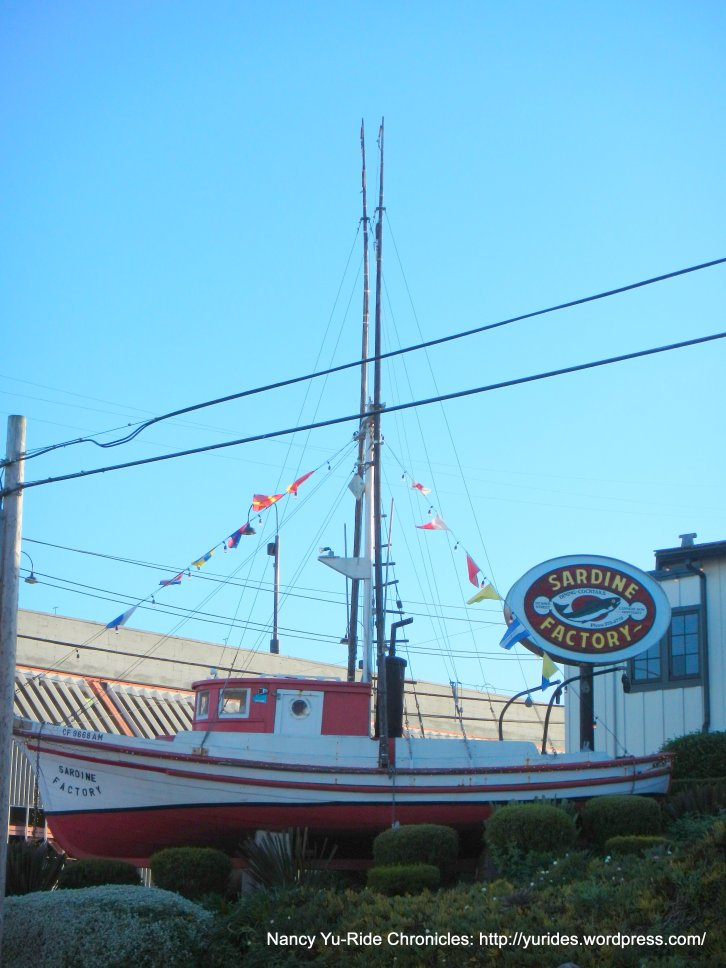 Cannery Row-sardine factory boat