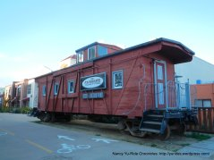 Cannery Row-caboose