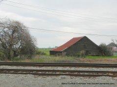 Old Cordelia wooden barn