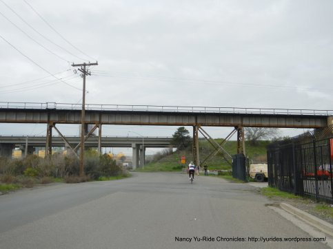 Benicia train trestle-Industrial Way