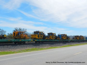 Union Pacific RR equipment