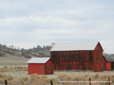 red weather barns