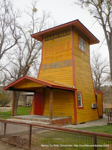 Parkfield old wooden tower