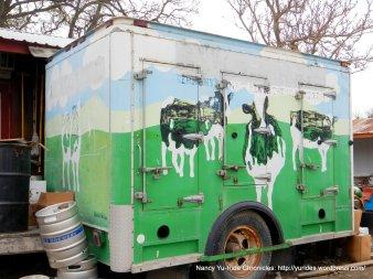 Parkfield milk truck