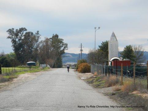 Dry Creek Rd-rough pavement