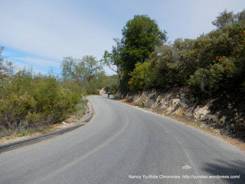 Peachy Canyon climb-5% avg grade