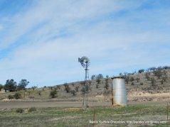 wind mill & storage tower