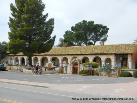 front arches-Mission San Miguel