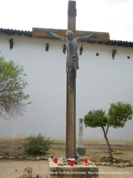Cemetery Crucifix-bronze statue