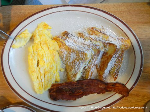 french toast-eggs & bacon