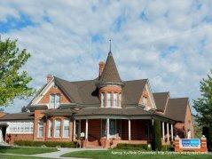 Circa 1893-Nicolay Funeral Home-classic brick Queen Anne Victorian