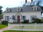 Circa 1890-Clemons Home-colonial revival redwood bldg