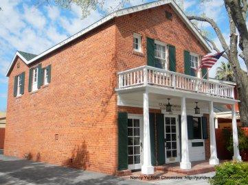 Circa: 1933 two-story brick American farmhouse
