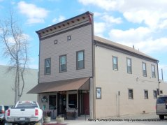 Circa: 1887 western false front-hotel, bar & restaurant