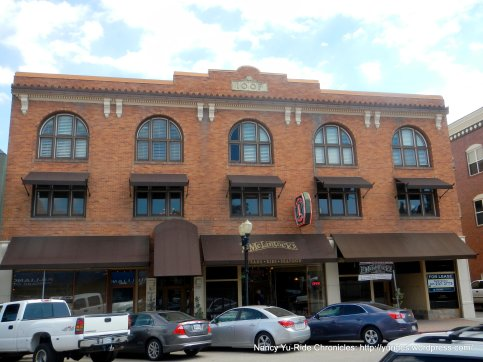 Circa 1911-Italianate architectural design-Odd Fellows Bldg/Saunders Bros