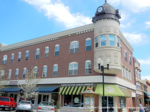 Circa 1892-Blackburn Clock Tower Bldg-red brick commercial bldg-one of a kind