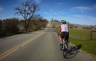 Geneseo Rd-rolling climbs