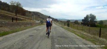 descend Vineyard Canyon-SLO County