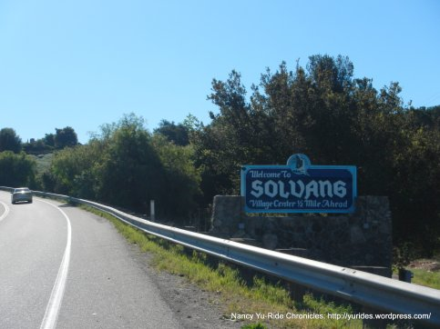 climb on CA-246 to Solvang