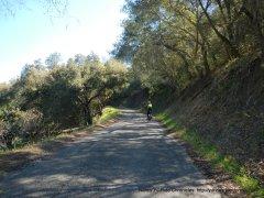begin steep climb