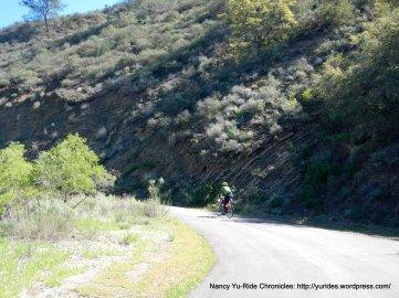 Happy Canyon-steep 10-14% grades