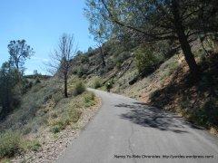 climb up Figueroa Mountain Rd