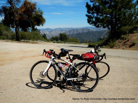 Figueroa Mountain Rd summit