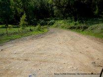 rough dirt road