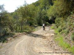 rocky dirt road