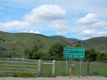 to Refugio Rd