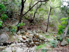 Caqada Del Refugio creek