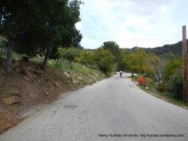 climb up S Refugio Rd