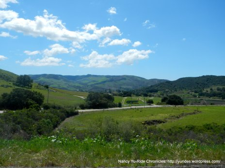 Redrock Mountains & Purisima Hills