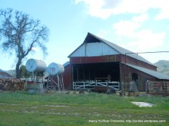 huge barn structure