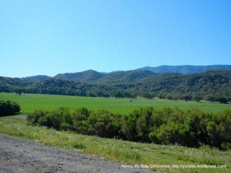 Santa Ynez valley & mountains