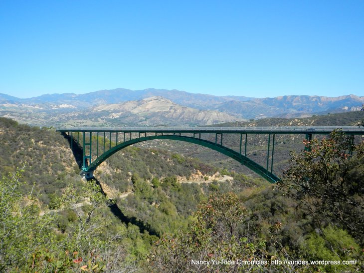 Cold Spring Arch Bridge-mountain views