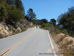climb up E Camino Cielo